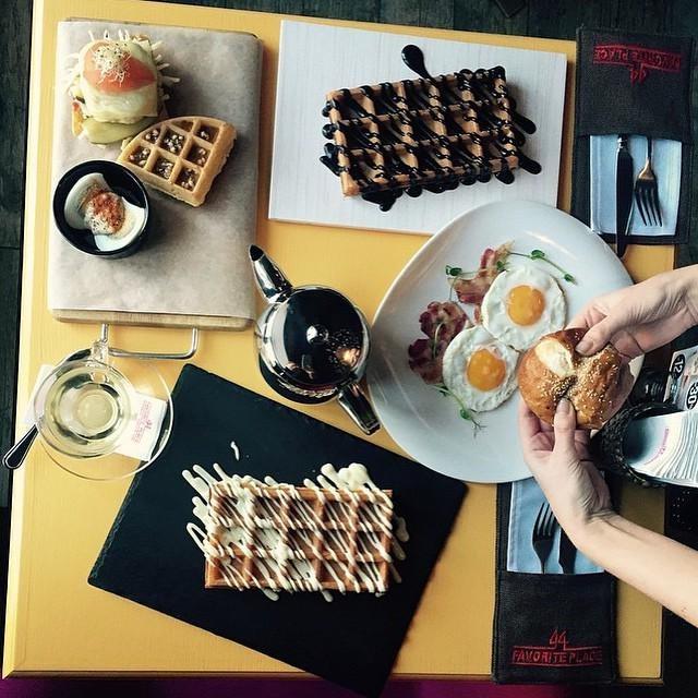 Отличный завтрак в лучших традициях