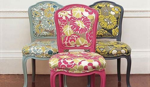 Remont-mebeli: обновленный вид старых стульев