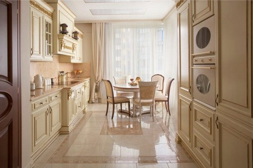 Как выбрать кухню в классическом стиле