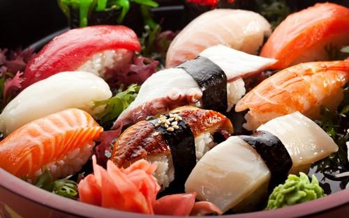 Популярные суши