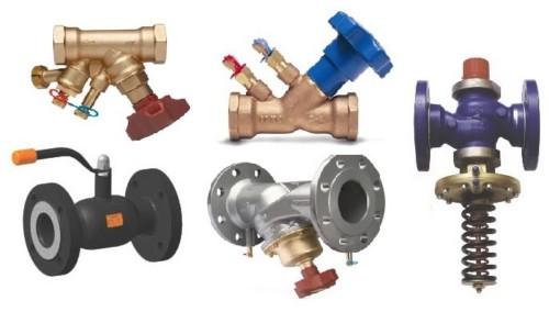 Функции и значение регулирующей арматуры в системе отопления
