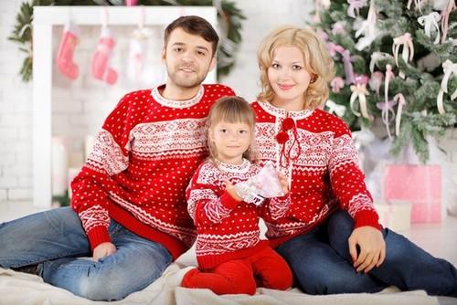 Одинаковая одежда для семьи